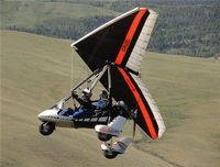 Airborne Over Cody/Powered Hang Gliding