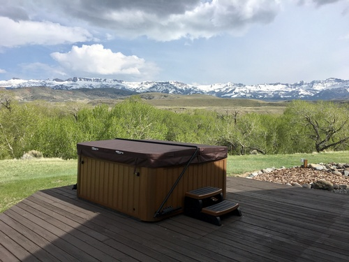 Cozy cabins and beautiful views!