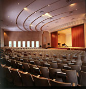 The Garrison Auditorium seats 1,000