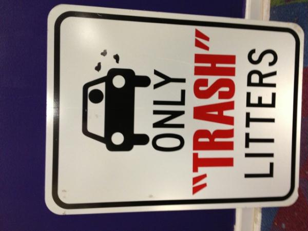 Only Trash Litters