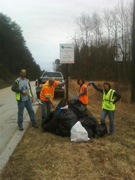 Road Litter Cleanup