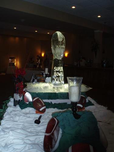 Kickoff to 2011 Gala Ice Sculpture