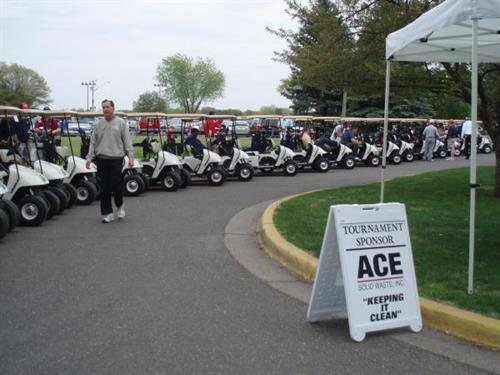 2010 22nd Annual Golf Tournament @ Majestic Oaks was sponsored by ACE Solid Waste
