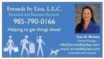Errands by Lisa, L.L.C.