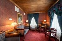 The Governor's Suite Parlor at The Lodge Resort & Spa in Cloudcroft