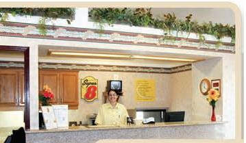Super 8 Pierre Front Desk