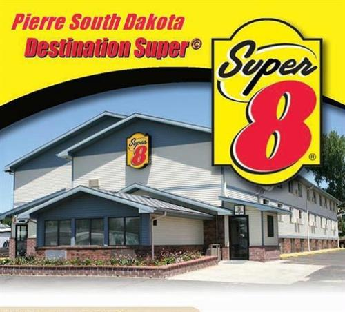 Super 8 Pierre Front View