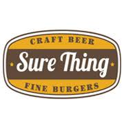 Sure Thing Burger
