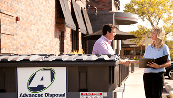 New or existing business in need of refuse or recycling services?  Give us a call!