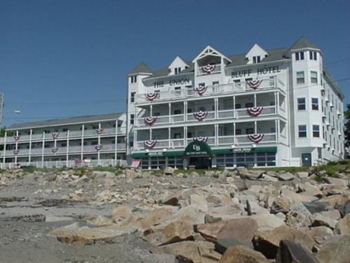 Union Bluff Hotel From the Beach