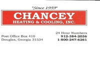 Chancey's Heating & Cooling