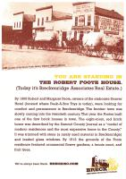 Historic information about the Foote House, now our office