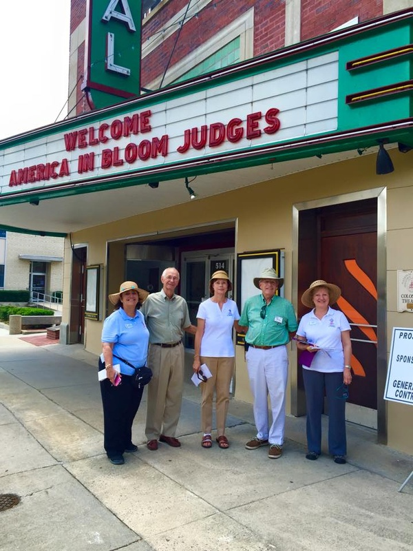 Welcome America in Bloom Judges