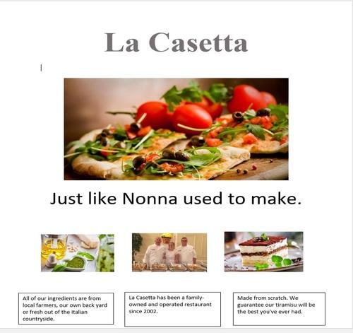 La Casetta Italian Restaurant of Bethel