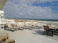 Huge Beach Home balconies and decks overlooking the gulf