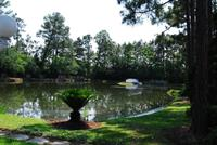 Lake at Gulf Shores Wedding Chapel
