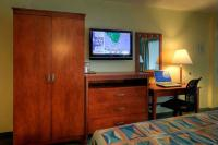 Relax and watch a little TV in our comfortable rooms