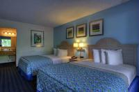 Our double rooms feature two Queen Serta Sleepers!