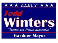 Winters for Gardner Mayor