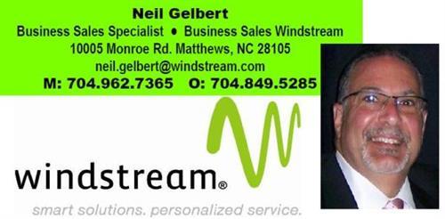 Neil Gelbert...SMB Field sales 704.962.7365