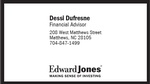 Edward Jones - Dessi Dufresne