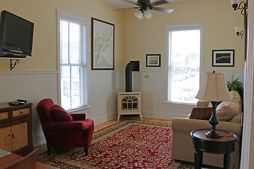 Living room has additional Queen Sofa sleeper with thick mattress pad!