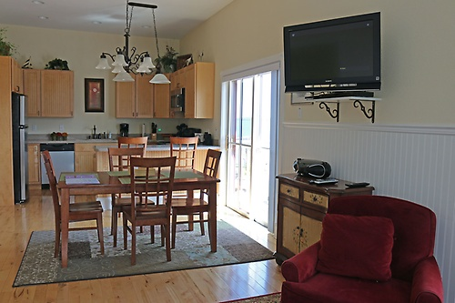 Sliding door to Balcony overlooking main street '' Rittehouse'' view harbor & more!