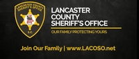 LANCASTER COUNTY SHERIFF'S OFFICE