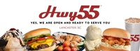 HWY. 55 BURGERS SHAKES AND FRIES