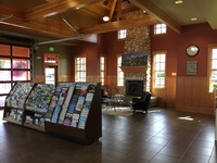 Inside the Visitor Center