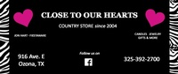 Close to Our Hearts Country Store