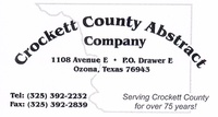 Crockett County Abstract Company