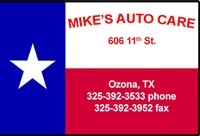 MAC - Mike's Auto Care