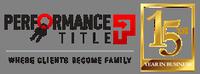 Performance Title Inc