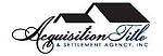 Acquisition Title & Settlement Agency