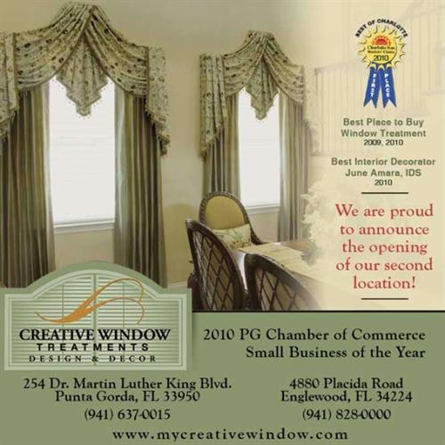 Creative Window Treatments Punta