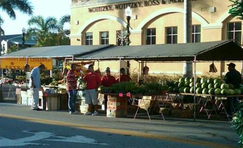 Two Farmer's Markets every weekend in Punta Gorda