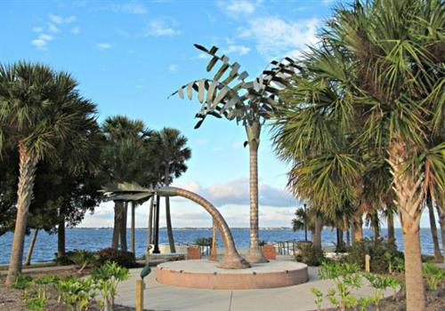 Spirit of Punta Gorda  Sculpture