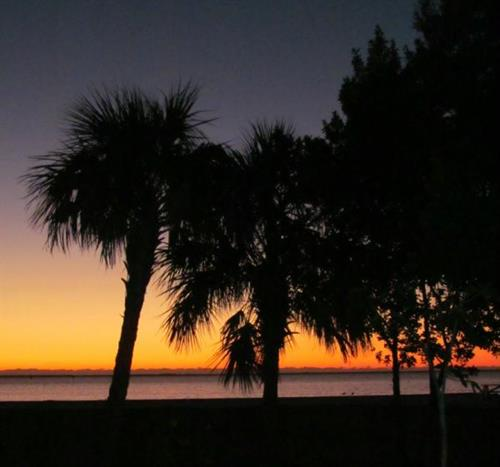 Sunset at Ponce de Leon Park