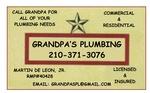 Grandpa's Plumbing