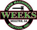Weeks Farm Machinery Auction Inc