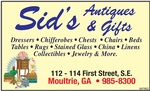 Sid's Antiques and Gifts