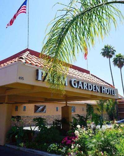 Palm Garden Hotel Front