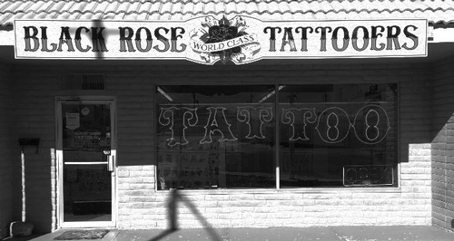 Black Rose Tattoo - Sierra Vista, Arizona