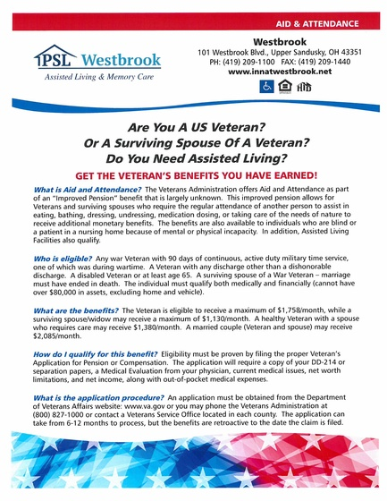Veteran Services at Westbrook