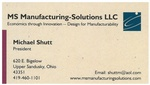 MS Manufacturing-Solutions LLC