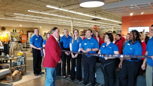 Ribbon Cutting at Ashley HomeStore Furniture