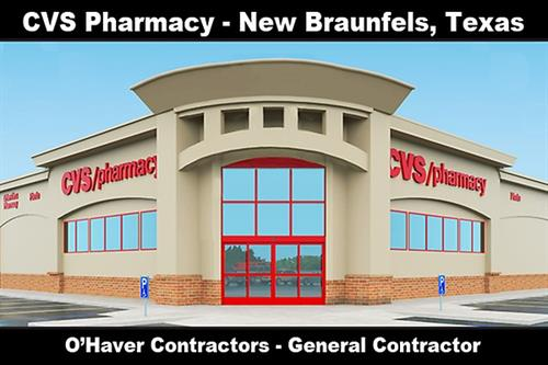 CVS - New Braunfels:  New Project ''Under Construction''