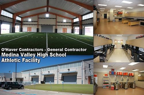 Medina Valley ISD - High School Athletic Facility