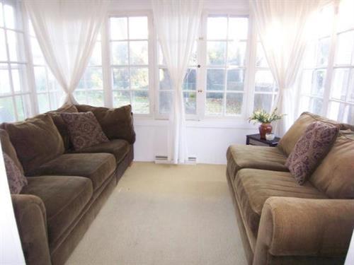 Staged Sunroom